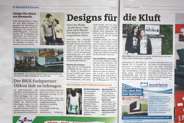 """Trendige Designs von """"kLuftschloss"""""""